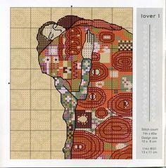 Gráficos ponto cruz da drica: Um lindo quadro romântico
