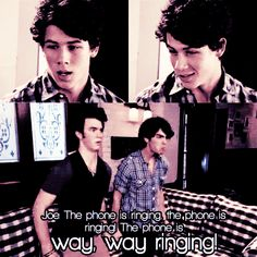 JONAS - Season 1 - THE PHONE IS WAY WAY RINGING!!!!