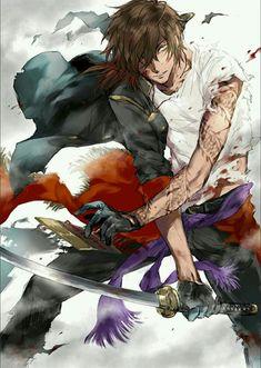 Please visit our website to support us! Hot Anime Boy, Cute Anime Guys, Anime Boys, Chica Anime Manga, Manga Boy, Anime Warrior, Samurai Art, Handsome Anime Guys, Image Manga