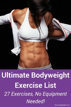 Six Pack Abs Workout for Women Lose belly fat with these 5 ab exercises Exercise For Six Pack, Six Pack Abs Workout, Abs Workout For Women, 6 Pack Abs For Women, Workout Bodyweight, Night Workout, Interval Training, Workout Challenge, Lose Body Fat