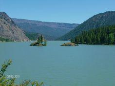 Rimrock Lake, WA with the twins