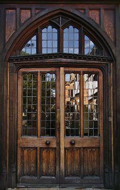 I could come home to these doors. Reflections on an Old Door Old Doors, Entry Doors, Windows And Doors, Door Knockers, Door Knobs, Amazing Architecture, Architecture Design, Doors Galore, When One Door Closes