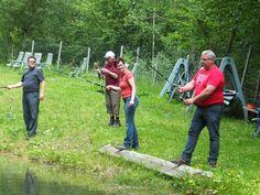 Fischen im Bergweiher - Hotelprogramm im Dolcevitahotel Preidlhof