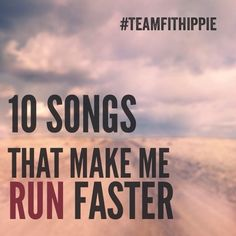 10 songs for Your Running Playlist