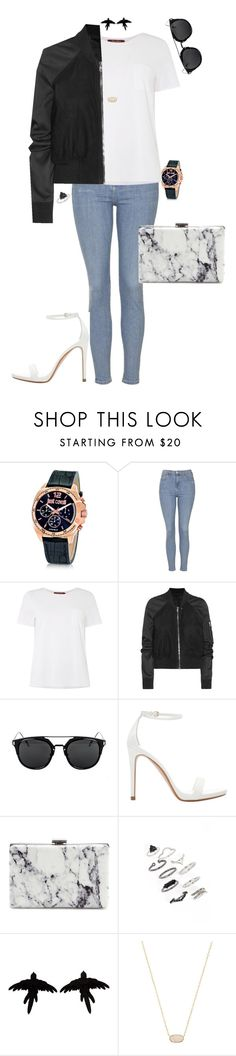 """Untitled #193"" by jmatz on Polyvore featuring Just Cavalli, Topshop, MaxMara, Rick Owens, Zara, Balenciaga, olgafacesrok and Kendra Scott"