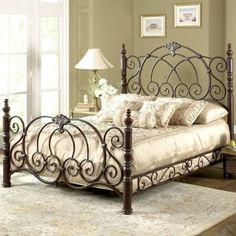 Кованая кровать №324