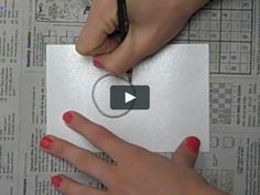 Watch a demonstration on how to make simple Styrofoam prints! More at IHeardYouCanDraw.tumblr.com!