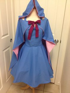 Fairy Godmother apron with cape by AJsCafe on Etsy https://www.etsy.com/listing/207226020/fairy-godmother-apron-with-cape