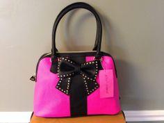 Betsey Johnson Hopeless Romantic Dome handbags - Pink