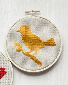 Bird (silhouette), featured in @Martha Stewart Living, March 2011.