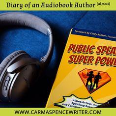 Authors, Writers, Audio Engineer, Hero's Journey, Sound Proofing, Public Speaking, Audiobook, Super Powers, Better Life