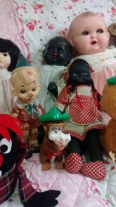 Boneca bebê alemã preta
