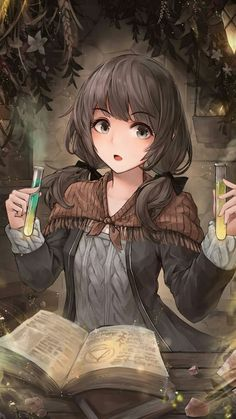 Pin by Melanie Meyer on manga in 2019 Lolis Anime, Chica Anime Manga, Manga Girl, Anime Guys, Anime Fantasy, Fantasy Girl, Kawaii Anime Girl, Anime Art Girl, Character Portraits