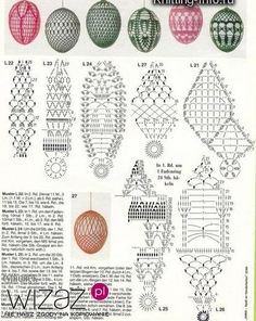 Discover recipes, home ideas, style inspiration and other ideas to try. Easter Crochet Patterns, Crochet Birds, Crochet Motifs, Crochet Diagram, Thread Crochet, Crochet Doilies, Free Crochet, Crochet Ornaments, Crochet Snowflakes