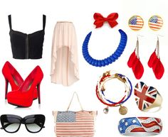 """fourth of july"" by kendraaannn on Polyvore"