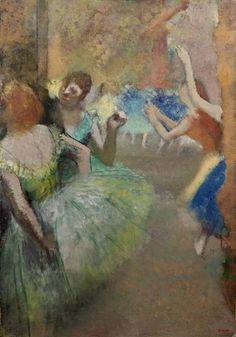Edgar Degas, Scène de ballet