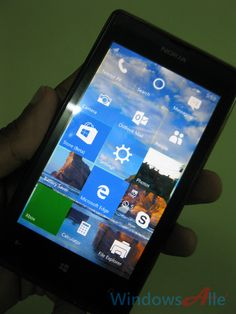 Microsoft will start rolling out the Windows 10 Mobile Phone RTM builds in December 2015