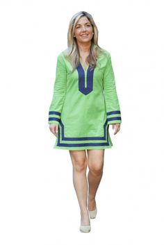 34b09fb8322 This fun sail to sable dress has longer sleeves for a chillier night out at  dinner.