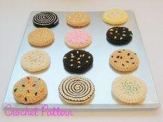 Patroon van de gehaakte klassieke Cookies door candypopcreations