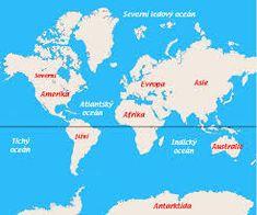 světadíly a oceány - Hledat Googlem Diagram, Map, Google, Arnica Montana, Location Map, Maps