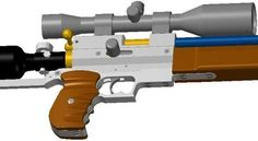 An arrangement of airgun making, from barrels to complete PCP rifles!.