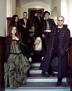 Therion band 2015, with a new vocalist Chiara Malvestiti
