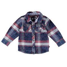 Babyface overhemd met knoopsluiting voor jongens in de kleur rood. Dit Babyface overhemd uit de winter collectie, is gemaakt van 100% katoen en een echte musthave! Draag hem op een Babyface broek of een jeans! Verkrijgbaar in de maten 68 t/m 104. Op de voorkant twee pocketzakken met afsluitbare klep.  Artikelnummer: 6207591 Seizoen: winter Leverancierskleur: 23 ruby  Materiaal: 100% katoen
