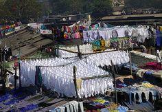 The ghat in Mumbai, India