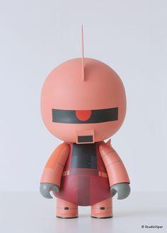 Vuzzy™ X Gundam 0079 #1 on Toy Design Served