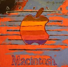 Andy Warhol, Macintosh Courtesy Woodshed Auctions.
