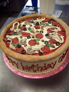 Click here to see cakes that look just like pizza!