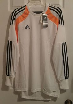 41314cf9868 NEW Adidas Onore Soccer Goalie GK Goalkeeper Jersey PADDED ClimaCool  Adizero #adidas