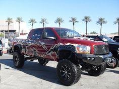 Dodge trucks = girls best friend
