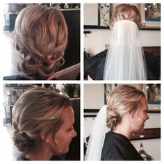 A practice run for her wedding.