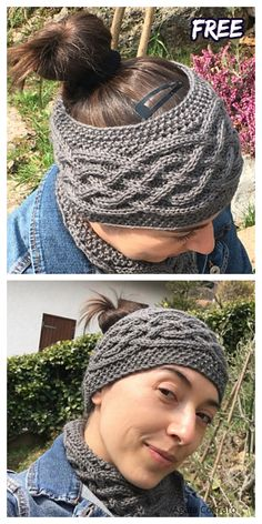 Snood Knitting Pattern, Knit Headband Pattern, Mittens Pattern, Knitted Headband, Baby Knitting Patterns, Free Knitting, Knitted Hats, Crochet Hats, Knitting For Charity