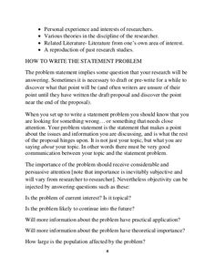 previous research experience essay How to write a statement problem Writing A Thesis Statement, Problem Statement, Research Studies, Free Resume, Sample Resume, Literature, Literatura, Free Resume Format