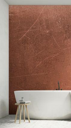 Vintage Home Decor For More Traditional Interior Design Look Wallpaper, Copper Wallpaper, Wallpaper Murals, Bathroom Wallpaper, Fashion Wallpaper, Industrial Wallpaper, Wallpaper Space, Bar Interior Design, Interior Decorating