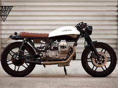 Moto Guzzi V35 Brat Style | Straight Cafè - Find Your Special Motorbike … Right Now!