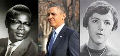 President Barack Obama and his parents