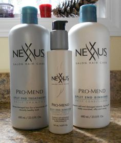 My Favorite Shampoo! Nexus Pro Mend Split End Binding Shampoo and Conditioner All Things Beauty, Beauty Tips, Beauty Hacks, Natural Hair Care, Natural Hair Styles, Hair Trim, Apocalypse Survival, Best Shampoos, Split Ends