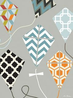 Embellishments Kids: Up and Away Nursery - Chic Paper Airplanes, Cool Kites and Haute Air Balloons