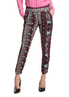 ALI & KRIS Printed Sister Patterned Pants