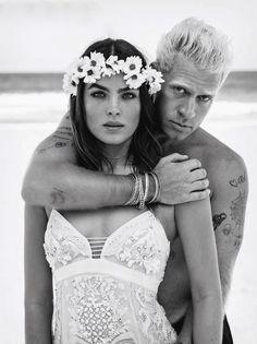 Australian beauty BAMBI NORTHWOOD-BLYTH in love with her beau Dan Single.