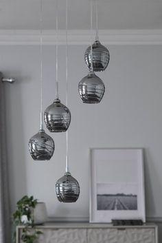 Next Drizzle Cluster Pendant - Grey Ceiling Lights, Hallway Wall Lights, Cluster Pendant Lighting, Cluster Pendant, Lights, Stair Lighting Pendant, Pendant Lights Uk, Ceiling Lights Uk, Bedroom Ceiling Light