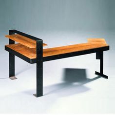 Pierre Chareau; Wood and Metal Writing Table, 1927.    Maybe something similar to this for my office.