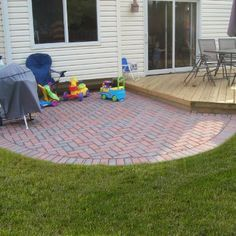 Amazing Unilock Patio Design With Deck By Lake Zurich IL Patio Builder Archadeck Of  Chicagoland