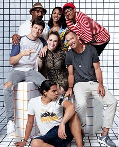 The Flash cast at San Diego Comic Con (SDCC) 2017