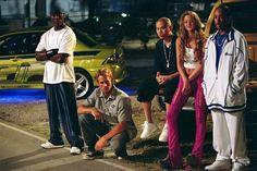 2 Fast 2 Furious: Tyrese Gibson (Roman Pearce), Paul Walker (Brian O'Conner), Jin Auyeung (Jimmy), Devon Aoki (Suki), Ludacris (Tej Parker)