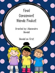 Great cut and paste activities for your students to practice reading words with final consonant blends! Blends And Digraphs, Reading Words, Consonant Blends, Cut And Paste, Group Activities, Daily 5, Word Work, First Grade, Phonics