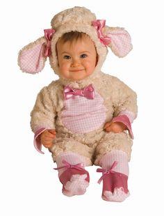 Ella's 1st Halloween costume!!!                                  Lucky Lil' Little Lamb Costume Halloween Newborn Infant